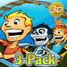 3D Rollercoaster Rush Bundle Pack